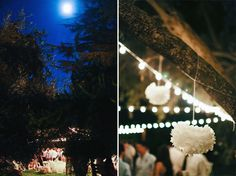 Reception on the Great Lawn at Highland Springs Resort. Corinne Krogh Photography
