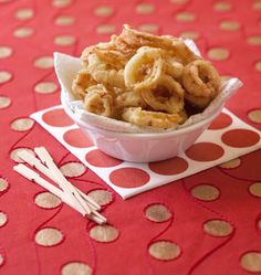 Beignets de calamars - Recettes de cuisine Ôdélices