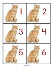 Cats theme activities and printables for preschool and kindergarten - KidSparkz