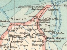 details from Map Printed in Lithograph, German Map, Old maps