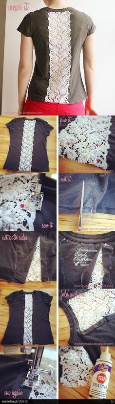 DIY: Creatief hergebruik van oude t-shirts