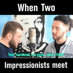 When two impressionists meet   By - Scheiffer Bates & Al Foran Comedy