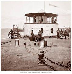 Civil War Photo - USS Monitor Catskill - Charleston, SC 1865