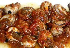 Snails Recipe, Sprouts, Shrimp, Sauce, Meat, Chicken, Vegetables, Cooking, Primers