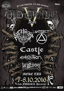 Long Live The Loud 666: 7-8 OCTOBER 2016 : OLD GRAVE V FEST WITH ARCHGOAT,...