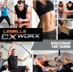 Les Mills CXWORX - will start this as soon as my rpm mentor gets certified and has a class WHEN I can attend :)