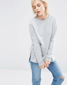 ASOS+Side+Split+Sweatshirt