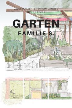 Eine #Klinkermauer, ein langes #Grundstück, wenig #Geld, und der Traum vom #Garten.  Was du daraus alles machen kannst? Schau vorbei.