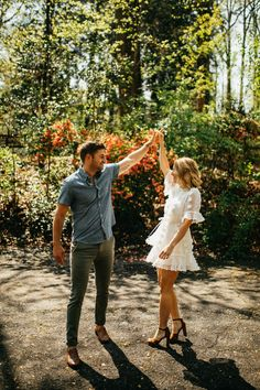 Dancing Through Your Engagement Session Photo Poses For Couples, Couple Picture Poses, Couple Photoshoot Poses, Engagement Photo Outfits, Couple Photography Poses, Engagement Photo Inspiration, Engagement Photos, Engagement Session, Country Engagement