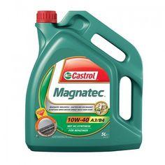 CASTROL MAGNATEC 10W40 5L е полусинтетично моторно масло, съдържащо интелигентни молекули предпазващи триещите се…