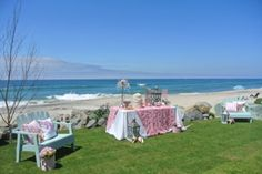 Beach Vow Renewal, I love these colors