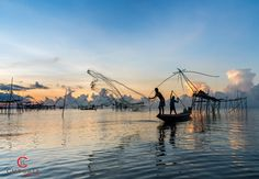撒网 Casting Net II Phatthalung Thailand - null