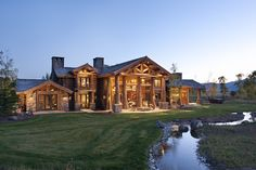 Jim McKinney, an investment banker in Chicago, worked with PFB Corp.'s Precision Craft Log & Timber Homes in Meridian, Idaho, on his nearly 7,000-square-foot vacation home in Jackson Hole, Wyo., which cost about $3 million.