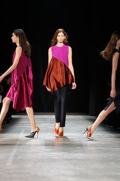 runway moments @ Narciso Rodriguez Fall 2013