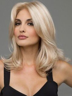 Shop our online store for blonde hair wigs for women.Blonde Wigs Lace Frontal Hair Honey Blonde 360 Lace Wig From Our Wigs Shops,Buy The Wig Now With Big Discount. Black Ponytail Hairstyles, Frontal Hairstyles, Wig Hairstyles, Long Blonde Wig, Medium Length Blonde, Blonde Hair With Grey Highlights, Light Blonde, Wig Styles, Short Hair Styles