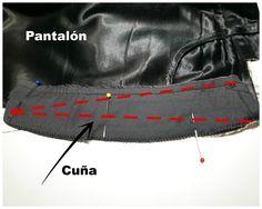 Ensanchar cintura pantalón tutorial costura