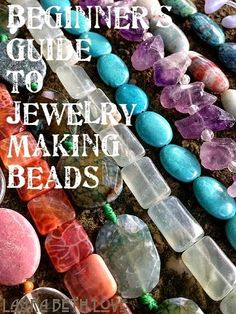Jewelry Making Ideas Dishfunctional Designs: A Beginner's Guide To Beads For Jewelry Making - Creative ideas in crafts and upcycled, innovative, repurposed art and home decor. Do It Yourself Jewelry, Do It Yourself Fashion, Make Your Own Jewelry, Jewelry Tools, Wire Jewelry, Jewelry Crafts, Beaded Jewelry, Jewlery, Jewelry Ideas