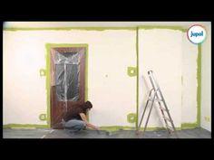 Malování bytu - jak malovat stěny - jak vymalovat byt / dětsky pokoj / obývací pokoj - VIDEO Jak se to dělá.cz