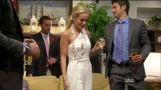 "Emily Maynard in Pamela Roland. Yes, I watched ""the Bachelorette"" :)"