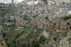 Le village troglodytique des Sassi de Matera en Basilicate