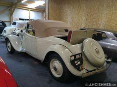 Ventes Auto - CITROEN TRACTION Cabriolet Cassoulet - 1952 - les annonces Les ANCIENNES com - ANCIENNES.NET