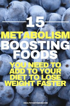 Lose weight faster with these delicious metabolism boosting foods. If you don't already know about these you really need to!! Losing weight can be hard but these foods will make it a lot easier. Make your body go into fat burning mode by eating these meals. Flat belly will be yours in no time! #weightlossfast #weightloss #boostmetabolism #weightlossrecipes #fatburning