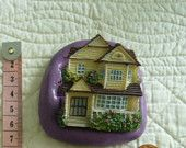 #Cottage House#2 Gingerbread #Food Safe Silicone Mold #Mould Cake Tool Fondant Gum Paste Pastillage Chocolate Sugarcraft Candy #Resin Clay Wax MoldCreationsNmore at Etsy.com
