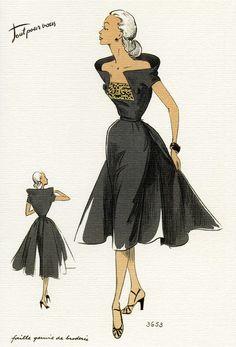 1950's Fashion Illustrations
