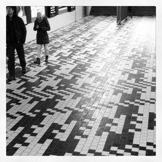Tegeltjes vloer station Breda