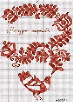 e819581376 Székely hímzésminta 450-12 | magyar motívumok | Embroidery ...