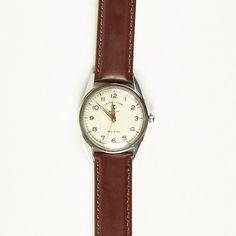 Vintage Favre-Leuba Sea King Military Style Watch