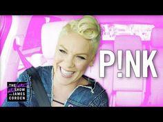 Pink Does Carpool Karaoke – Reveals Jon Bon Jovi Crush