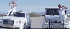 Mercedes-Benz G-Klasse [W463] (2013) SUV and Rolls-Royce Ghost (2010) car in WHITE IVERSON by Post Malone (2015) @MercedesBenz @rollsroycecars