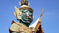 Estatua gigante en Bangkok