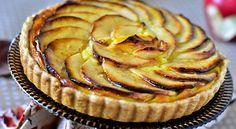 Recette tarte aux pommes a la creme patissiere
