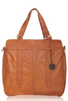 Gorgeous three-in-one leather tote. Wear it as shoulder bag, handbag or as a cross body bag.