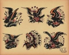 Old school (tattoo) refers to a Western or traditional American tattoo style featuring bold black outlines and a limited color palate. Description from imgarcade.com. I searched for this on bing.com/images