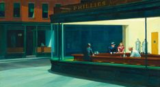 Nighthawks | Edward Hopper | The Art Institute of Chicago One of my favourites! Saw it in 1999.