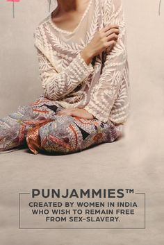 "PUNJAMMIES™: The most comfy, socially-conscious bottoms you'll ever wear. Buy now and take 15% OFF first purchase with code ""PIN15""! (Click image to view the collection)"