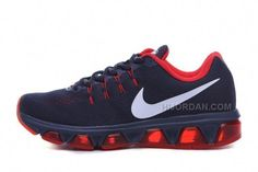 the latest 13e54 f4543 2016 Nike Air Max Tailwind 8 Print Sneakers Dark Blue Red Mens Running Shoes