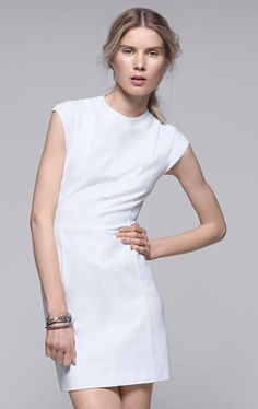 Women's Dress - Orinthia Stretch Cotton Dress - Theory.com