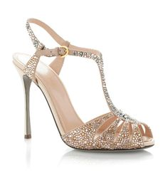 Tuesday Shoesday – Indian Bridal Crystal Shoes on IndianWeddingSite.com