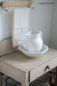 Primitive Washstand