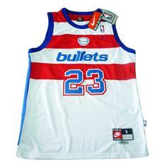 1df878d25 Nike Washington Bullets  23 Michael Jordan Swingman Home Jerseys White  ID 3114 Price   20