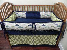 I love this for a boy!!https://www.etsy.com/listing/153980773/custom-baby-bedding-set-finn-retro-ride