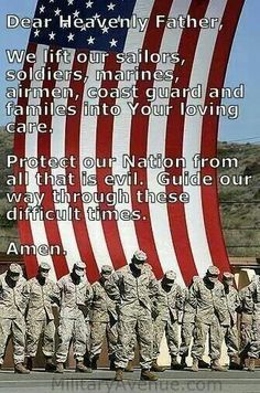 SUPPORT OUR TROOPS They sacrifice their lives for others. They defend America and honor their God and Country. Thank you, troops of the past, present and future.