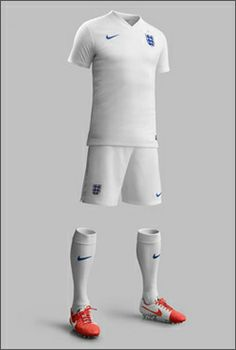 Nike England Home World Cup Kit #nike #england #worldcup