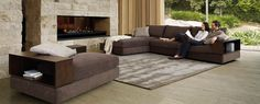 King Furniture - Jasper modular lounge system in leather or fabric