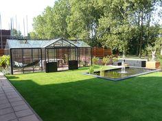 Grote orangerie om optimaal van uw tuin te kunnen genieten. 0174-290727.