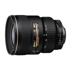 "AF-S Zoom-Nikkor 17-35mm f/2.8D IF-ED.  $1955.  26.3 oz., 3.2"" d x 4.2"" l, 77mm filter."